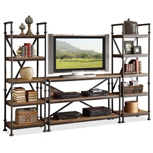 Riverside Furniture Camden Town Entertainment Wall Unit
