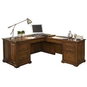 Riverside Furniture Cantata L Computer Workstation