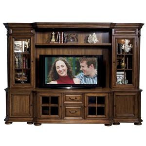Riverside Furniture Cantata 63-Inch TV Console Wall System