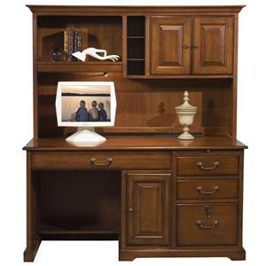 Riverside Furniture Cantata 58-Inch Computer Desk and Hutch