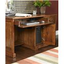 Riverside Furniture Cantata Traditional 58-Inch Computer Desk and Hutch - Detail of Keyboard Drawer