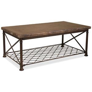 Riverside Furniture Chalet Rectangular Cocktail Table
