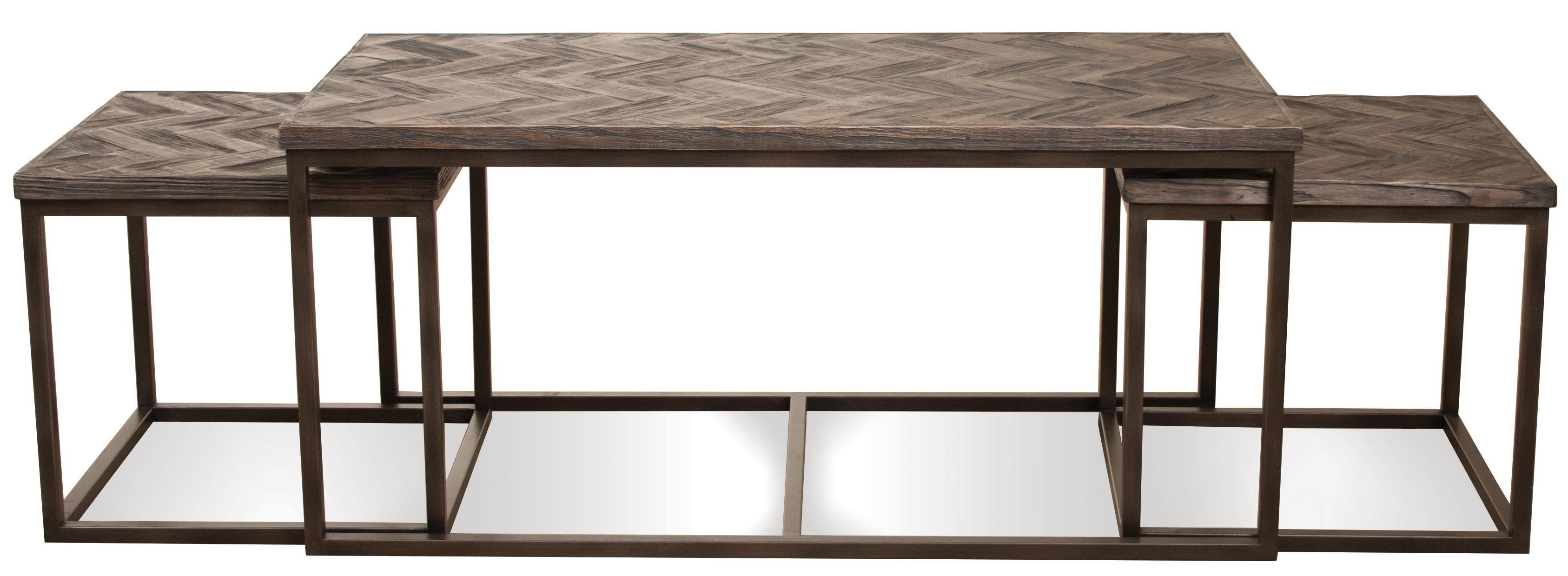 3 Pc Rectangular Nesting Coffee Table by Riverside Furniture