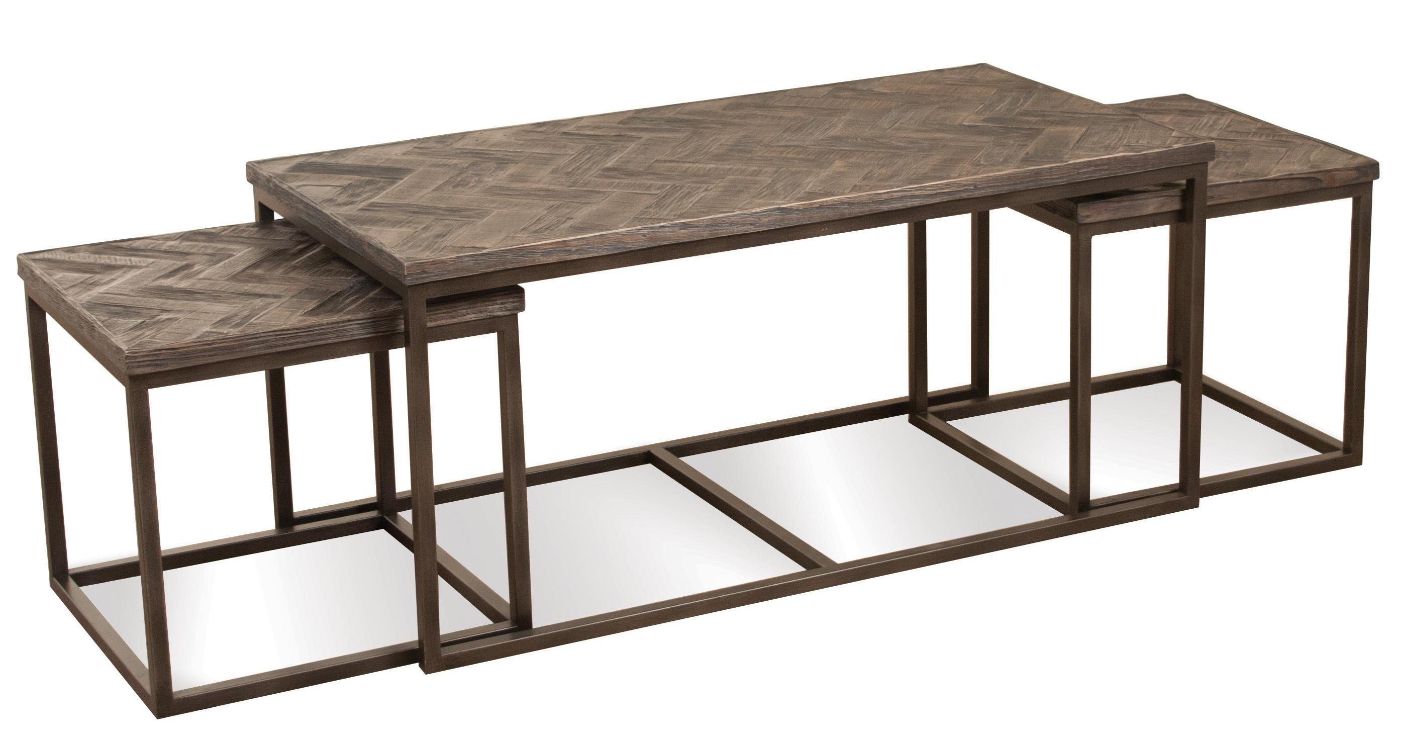 pc rectangular nesting coffee table by riverside furniture  -  pc rectangular nesting coffee table