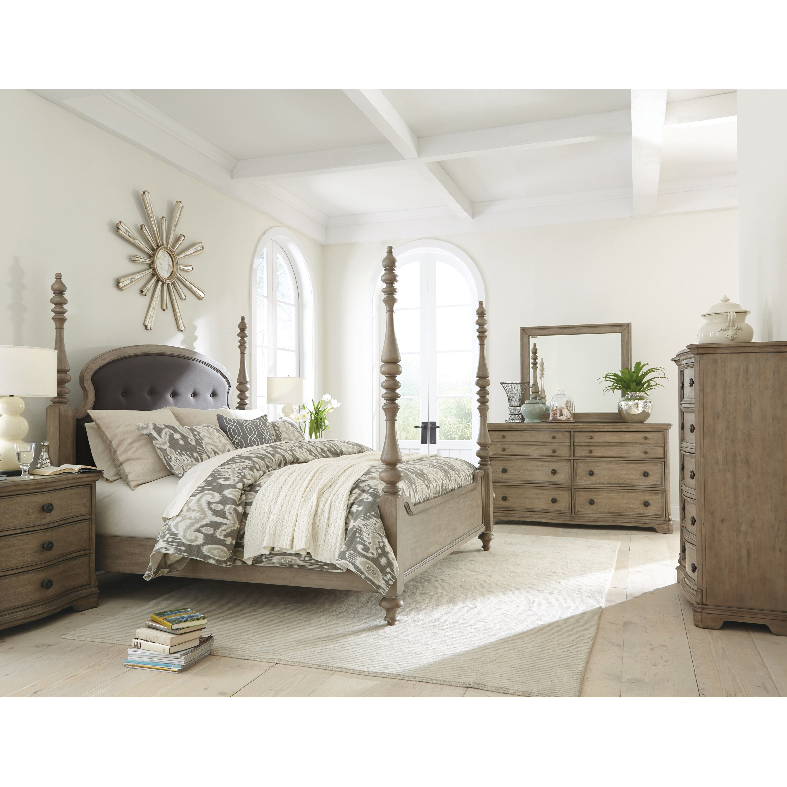 6 Drawer Dresser With Cedar Lined Bottom Drawers By Riverside