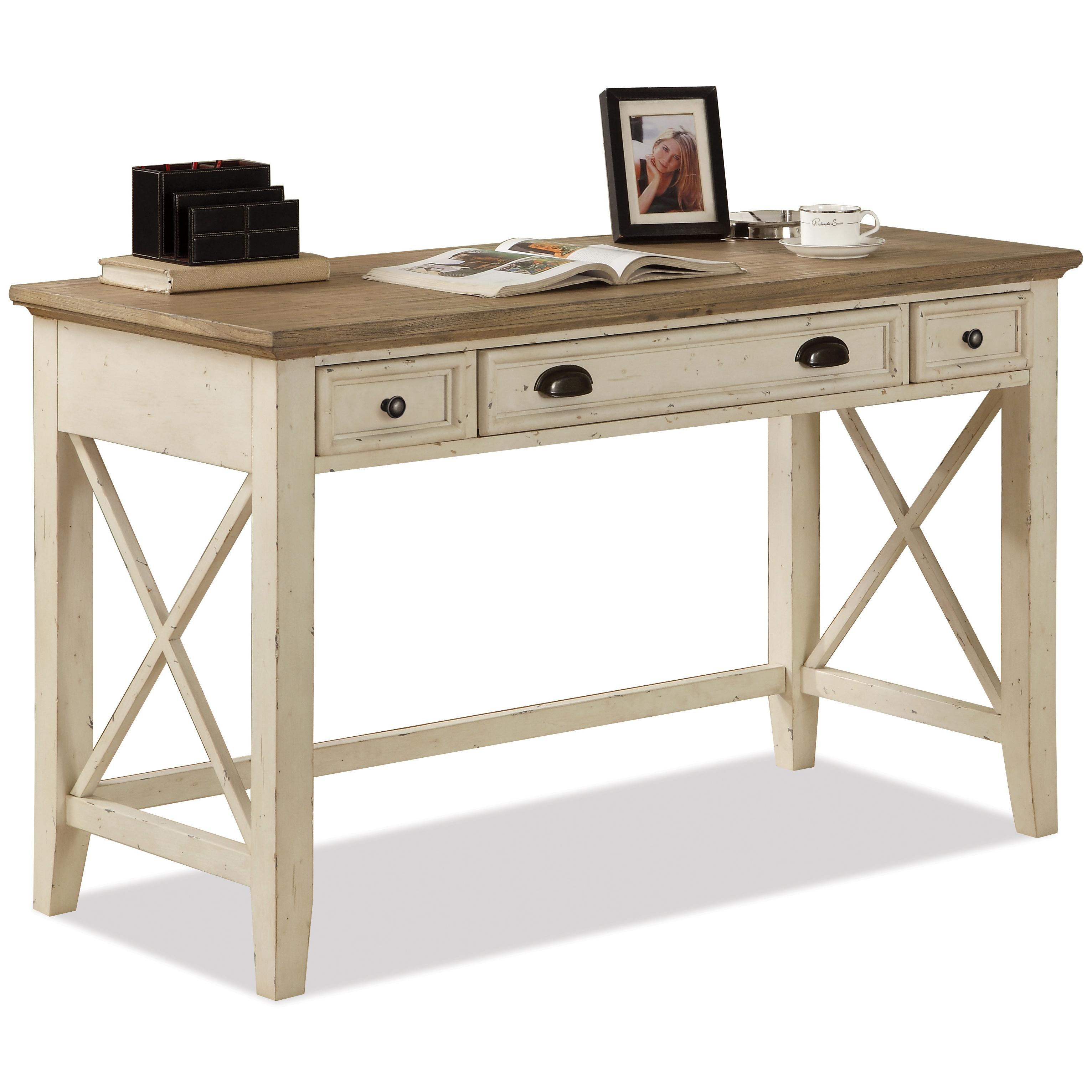 Corner Writing Desk Amp Credenza With Hutch By Riverside