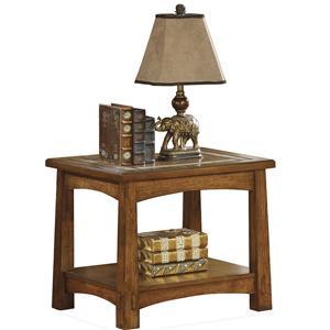 Riverside Furniture Craftsman Home Side Table