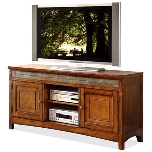 Riverside Furniture Craftsman Home TV Console