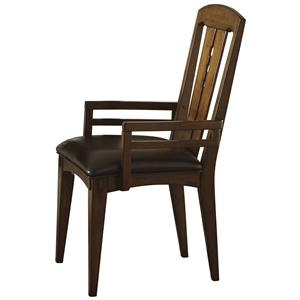 Riverside Furniture Craftsman Home Arm Chair