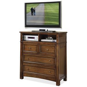 Riverside Furniture Craftsman Home Entertainment Dresser