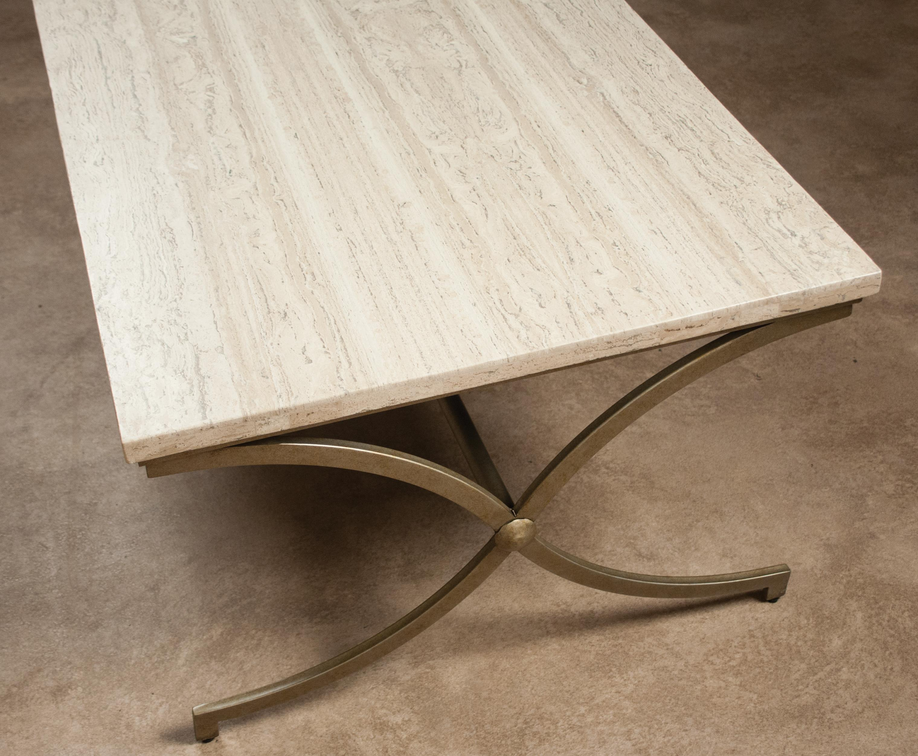 Travertine coffee table by riverside furniture wolf and gardiner travertine coffee table geotapseo Image collections