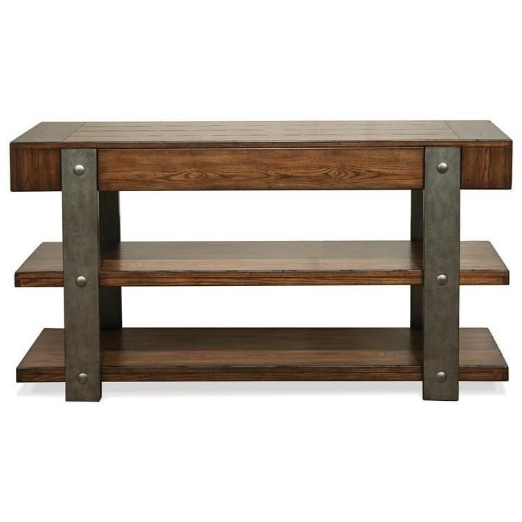 urban rustic furniture. Urban Rustic 1 Drawer Sofa Table Furniture