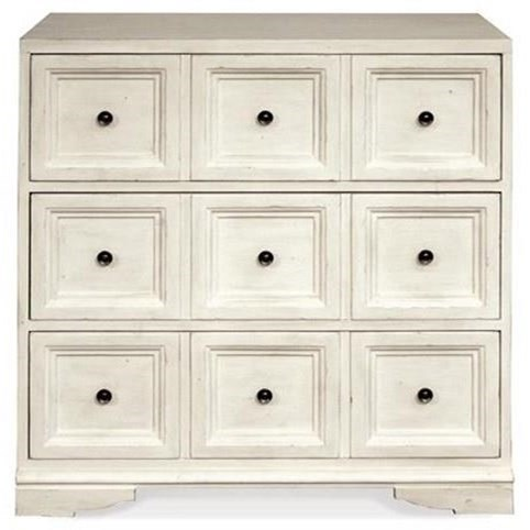 By Riverside Furniture. 3 Drawer Bunching Chest With Electric/USB Outlet Bar