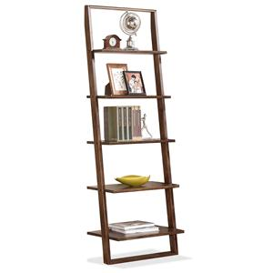 Riverside Furniture Lean Living Leaning Bookcase