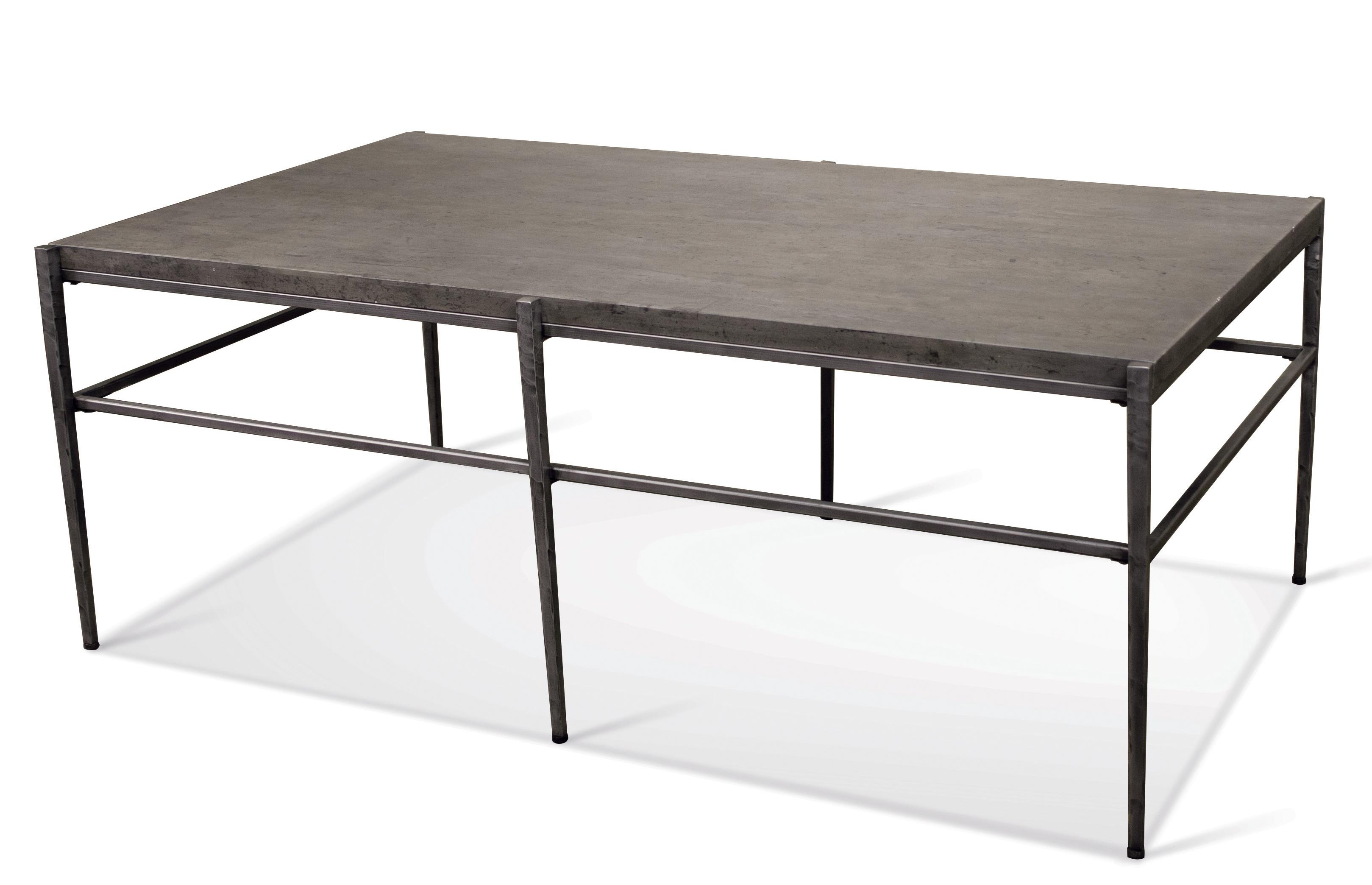 Rectangular Coffee Table W Stone Top By Riverside Furniture