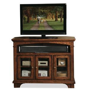 Riverside Furniture Marston Corner Tv Console