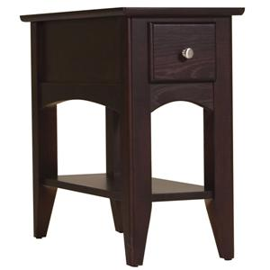 Riverside Furniture Metro II Chairside Table