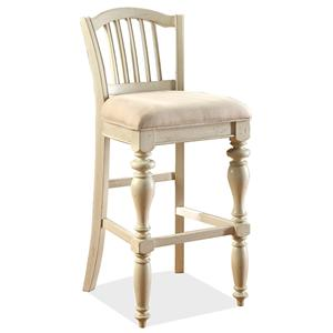 Riverside Furniture Mix-N-Match Chairs Barstool-Uphl Seat (2In)