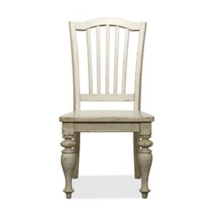 Riverside Furniture Mix-N-Match Chairs Wood Seat Side Chair