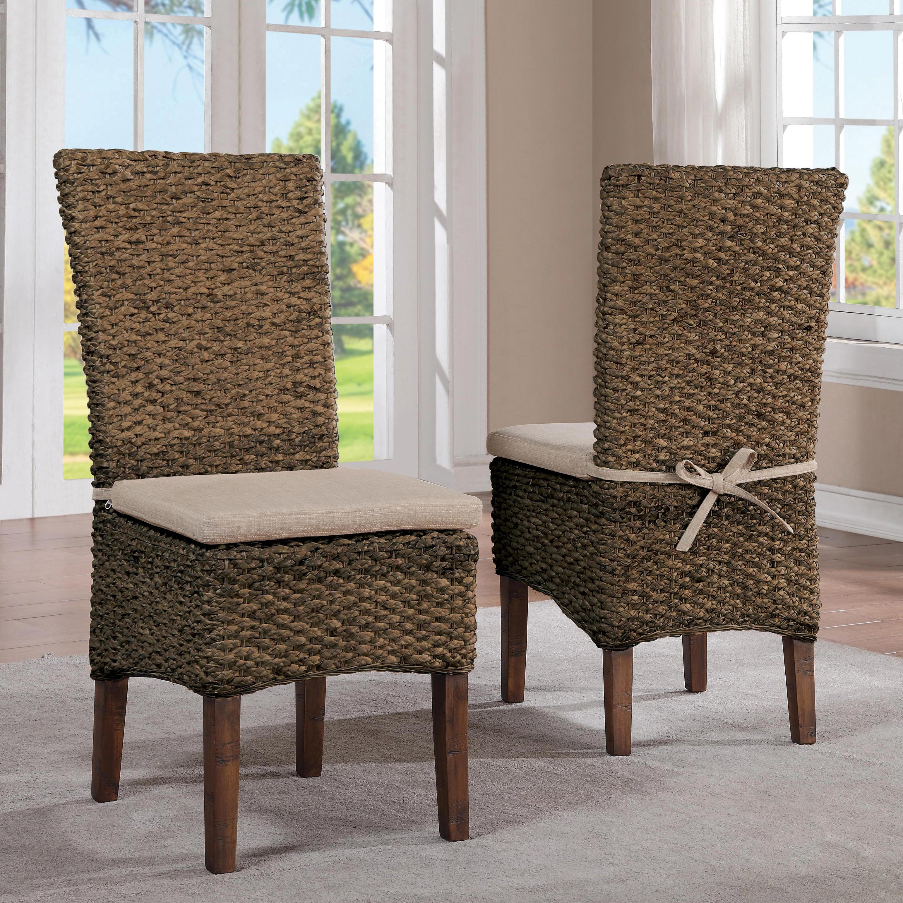 Woven Leaf Side Chair by Riverside Furniture