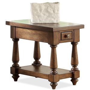Riverside Furniture Newburgh Chairside Table