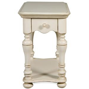 Riverside Furniture Placid Cove Chairside Table