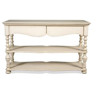 Riverside Furniture Placid Cove Sofa Table