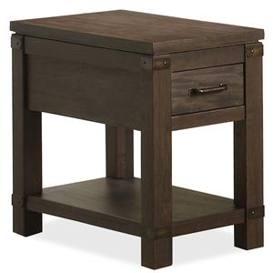 Riverside Furniture Promenade  Chairside Table
