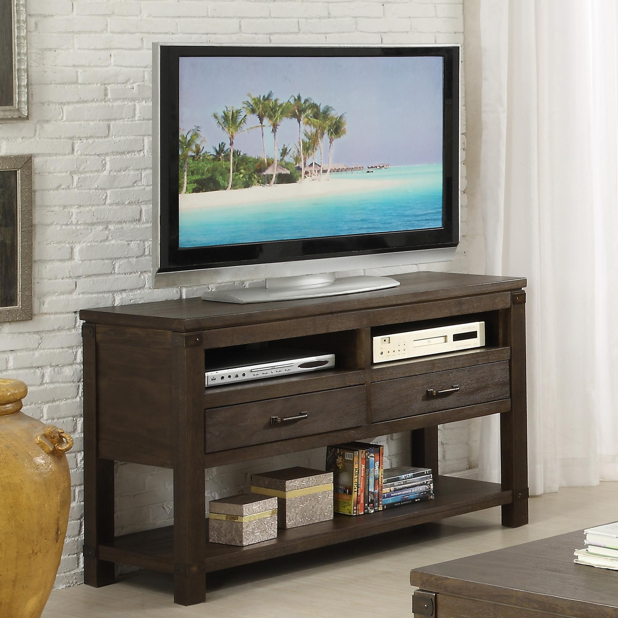 Rectangular Console Table With 2 Drawers By Riverside Furniture Wolf And Gardiner Wolf Furniture