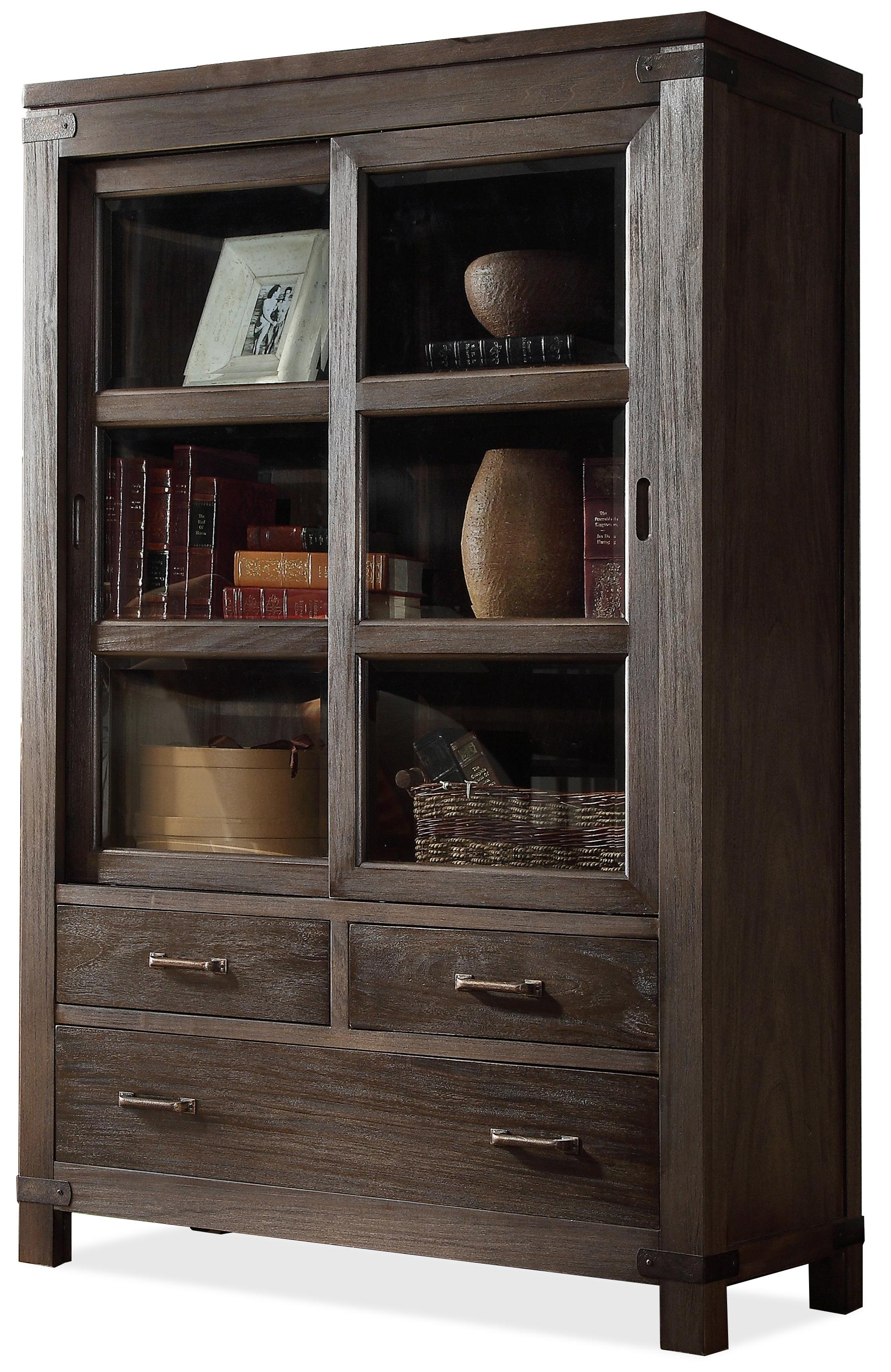 sliding wood farmhouse product do bookcase bookcases world door barn img market thumb