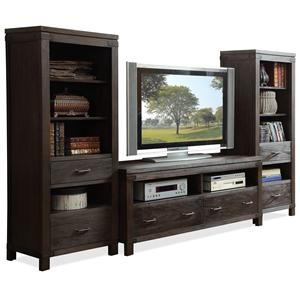 Riverside Furniture Promenade  Wall Entertainment Unit