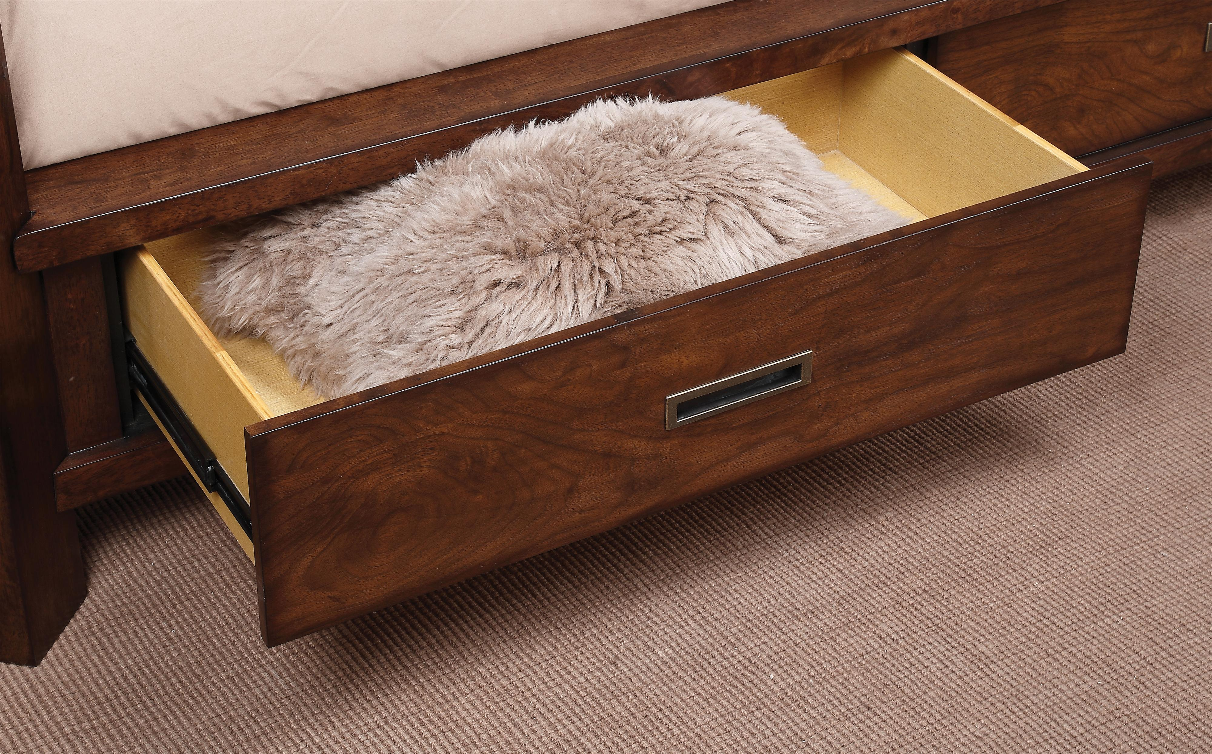 Lancaster Storage Canopy Bed King