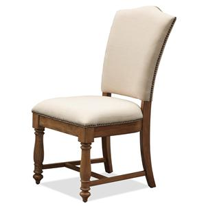 Riverside Furniture Summer Hill Upholstered Side Chair