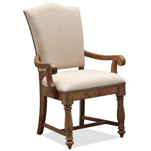 Riverside Furniture Summer Hill Upholstered Arm Chair