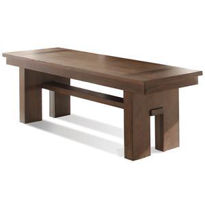 Riverside Furniture Terra Vista Bench
