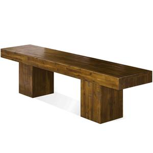 Riverside Furniture Valley View Dining Bench