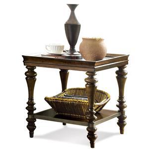 Riverside Furniture Windermier Rectangular Side Table