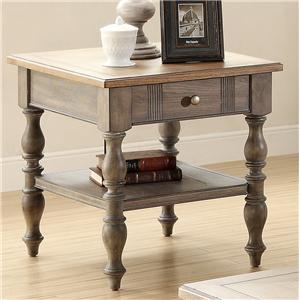 Riverside Furniture Windhaven End Table