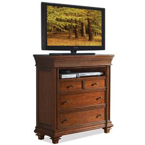 Riverside Furniture Windward Bay Media Chest