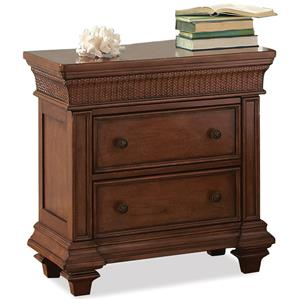 Riverside Furniture Windward Bay 2-Drawer Nightstand