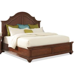 Riverside Furniture Windward Bay King Arch Bed