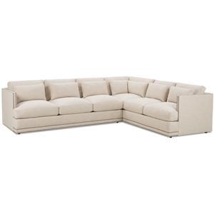 FB Home Oscar Sectional Sofa Group