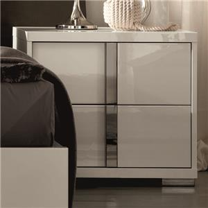 Rosner International Imperia Nightstand Left Hand Side
