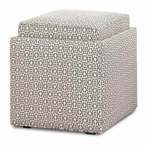 Rowe Chairs and Accents Nelson Storage Ottoman