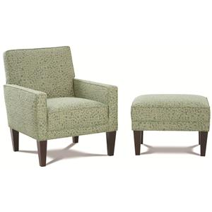 Rowe Chairs and Accents Chair and Ottoman