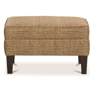 Rowe Chairs and Accents Cole Upholstered Ottoman