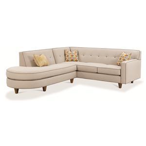 Rowe Dorset Contemporary 2 Piece Sectional Sofa