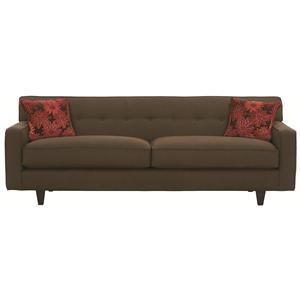 """Rowe Dorset 80"""" 2-Cushion Qu. Bed (wood finish)"""