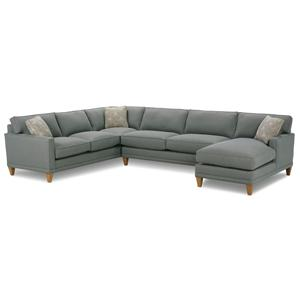 Rowe Townsend Three Piece Sectional Sofa Group