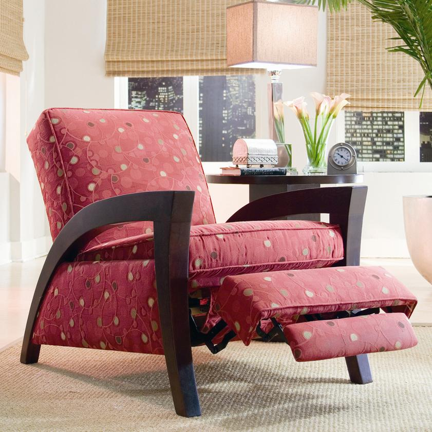 Wooden Arm Recliner by Sam Moore | Wolf and Gardiner Wolf Furniture